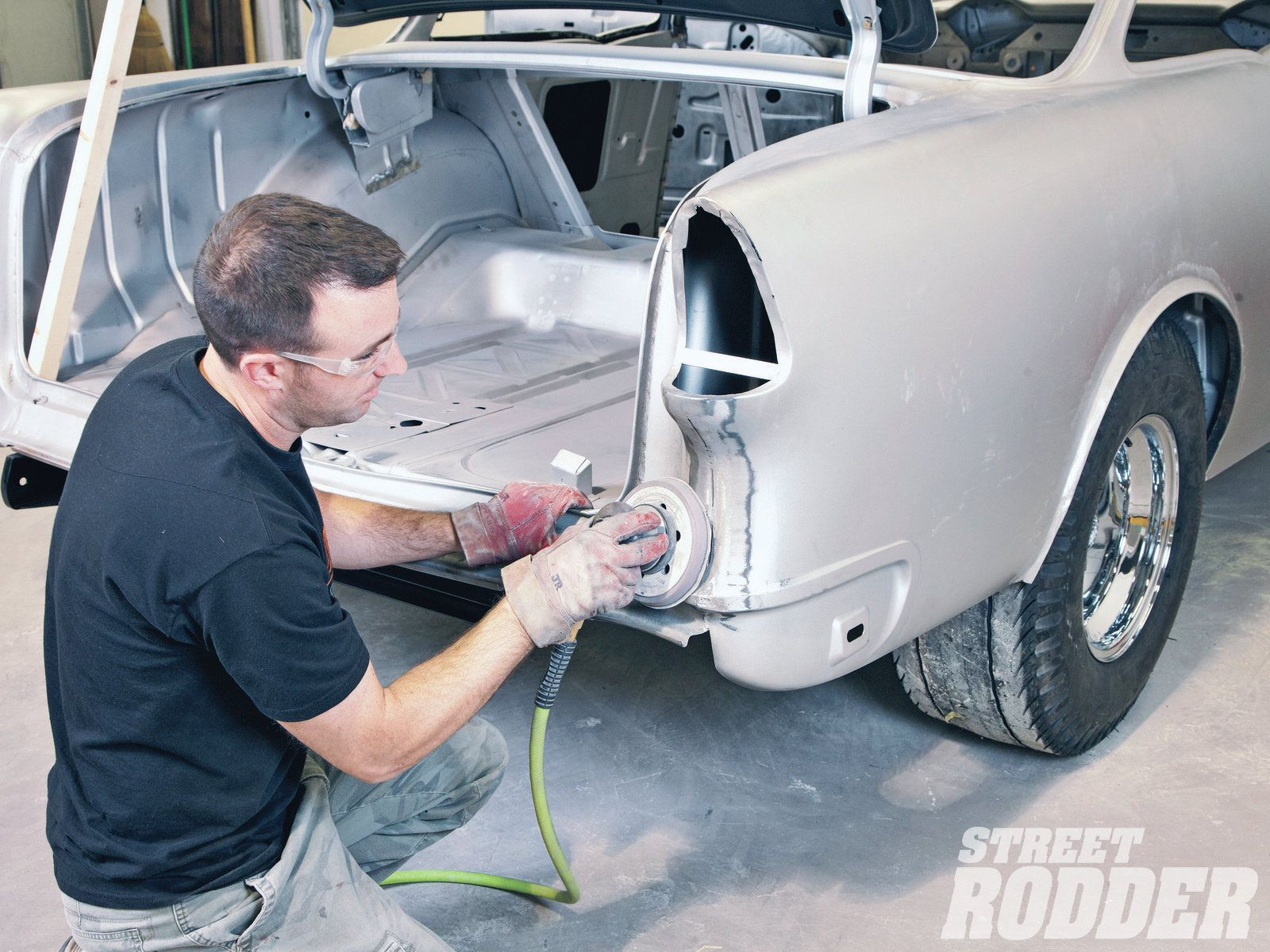 Filling Body Seams Street Rodder Magazine Auto Body Work Auto