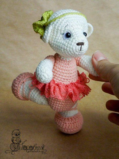 Amigurumi patrón del oso de la bailarina-Libre - Amigurumi Patrones ...