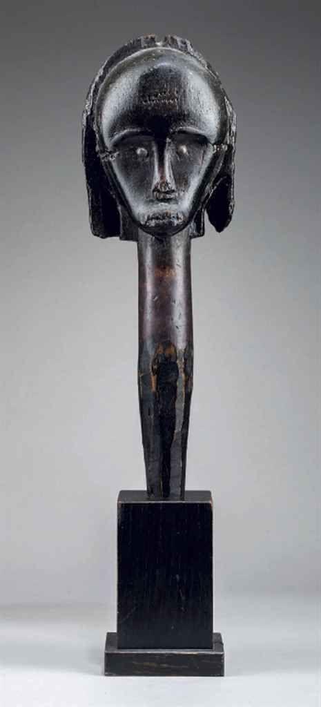 Tête de reliquaire Fang, angok