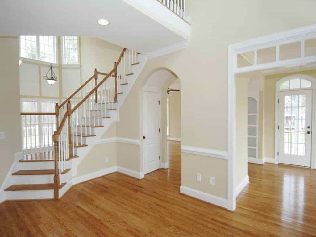 the right interior wall colors with wood floors in 2020 on best interior paint color combinations id=34934