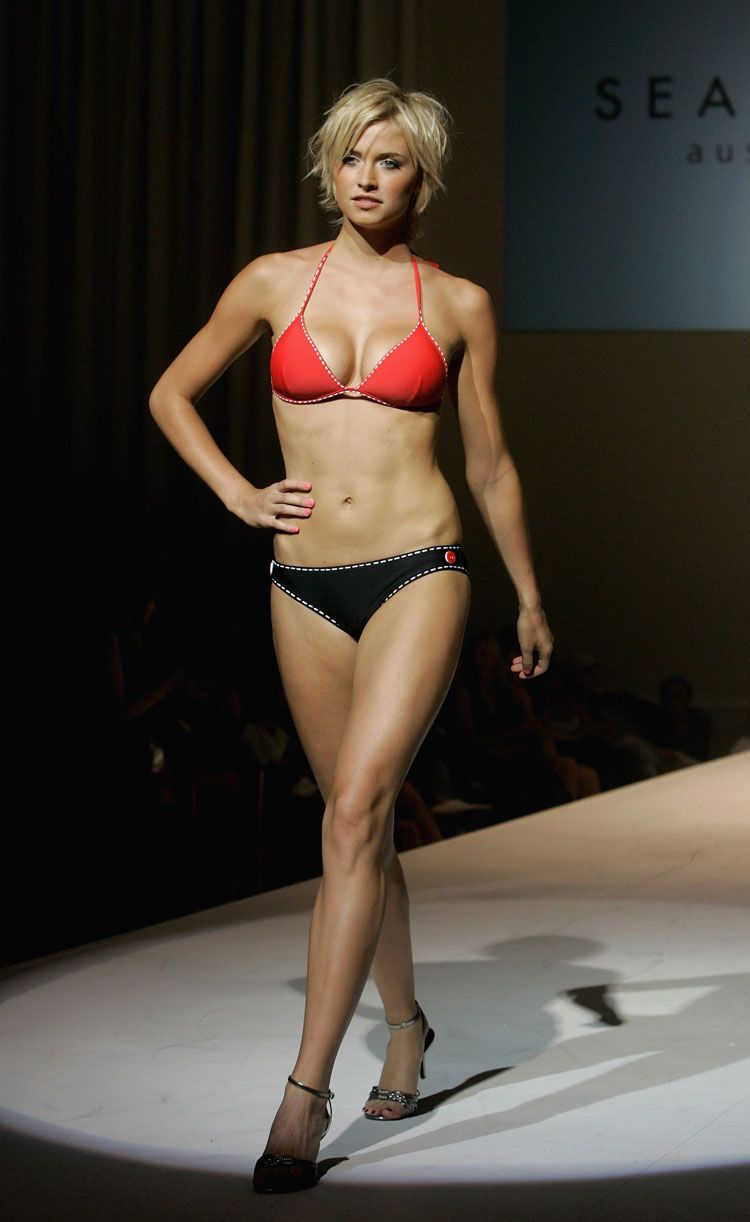 gercke model Lena bikini