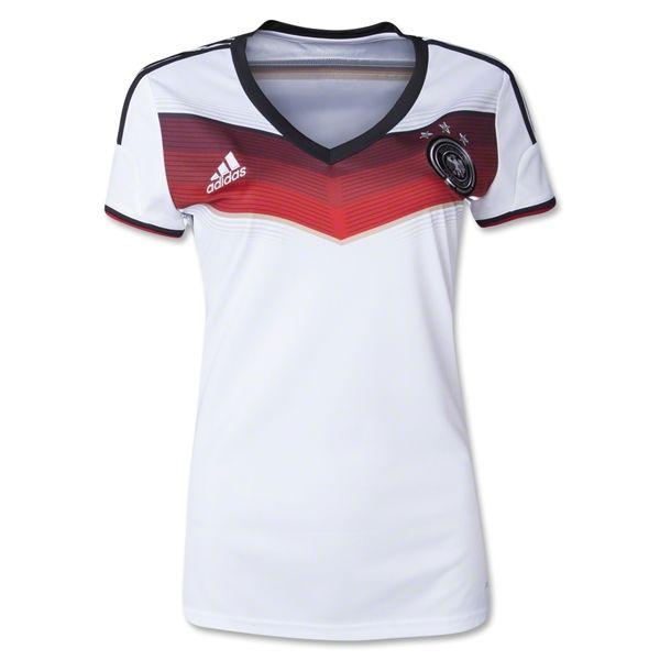 Germany 2014 Women's Home Soccer Jersey