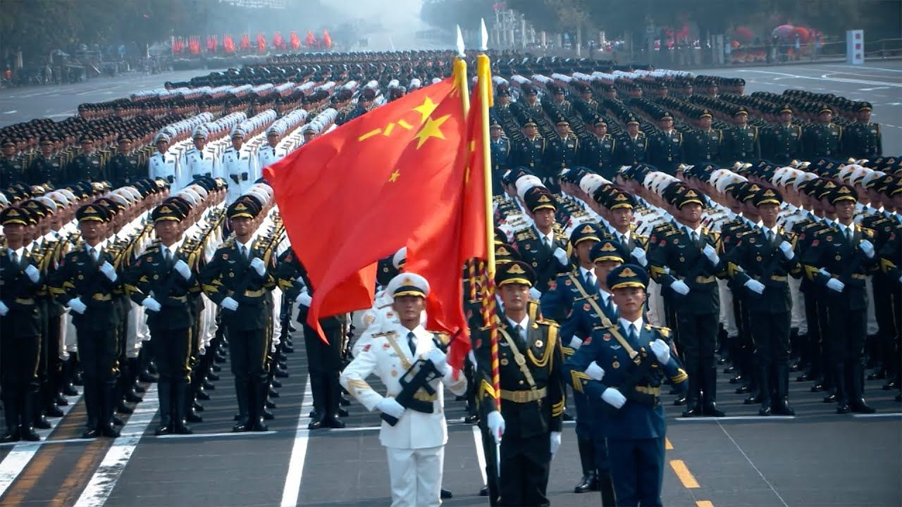 China's Army Day Review of the past four military parades