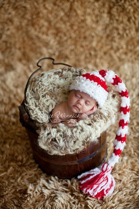 christmas elf hat baby photography prop sizes preemie newborn 0 3 months 3 6 months by babies bugs and bees
