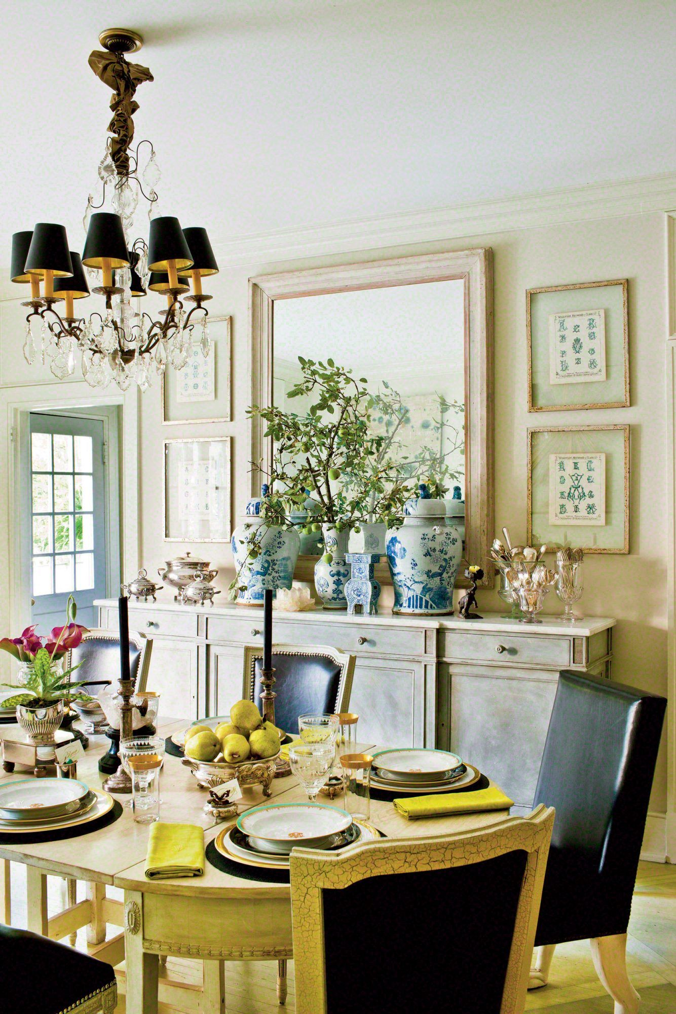 Southern Table Setting Ideas Dining Room Buffet Dining Room