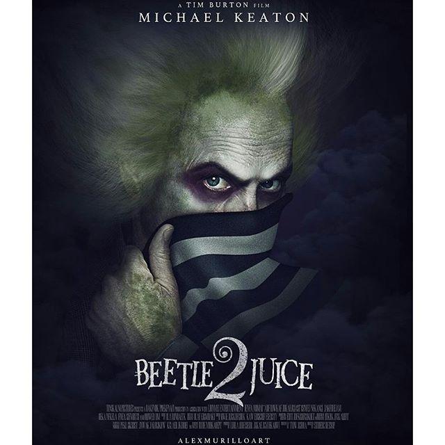 Beetlejuice 2 Poster Cartaz Terror