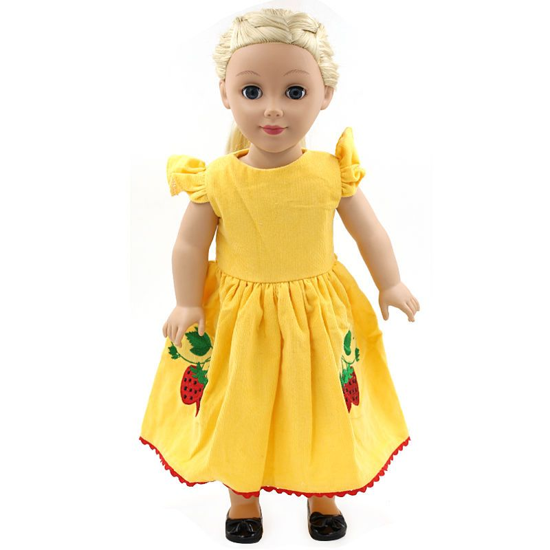 """Fashion Handmade Doll Dress Clothes Fits for 18/"""" Inch Girls Dolls Kids Gifts New"""