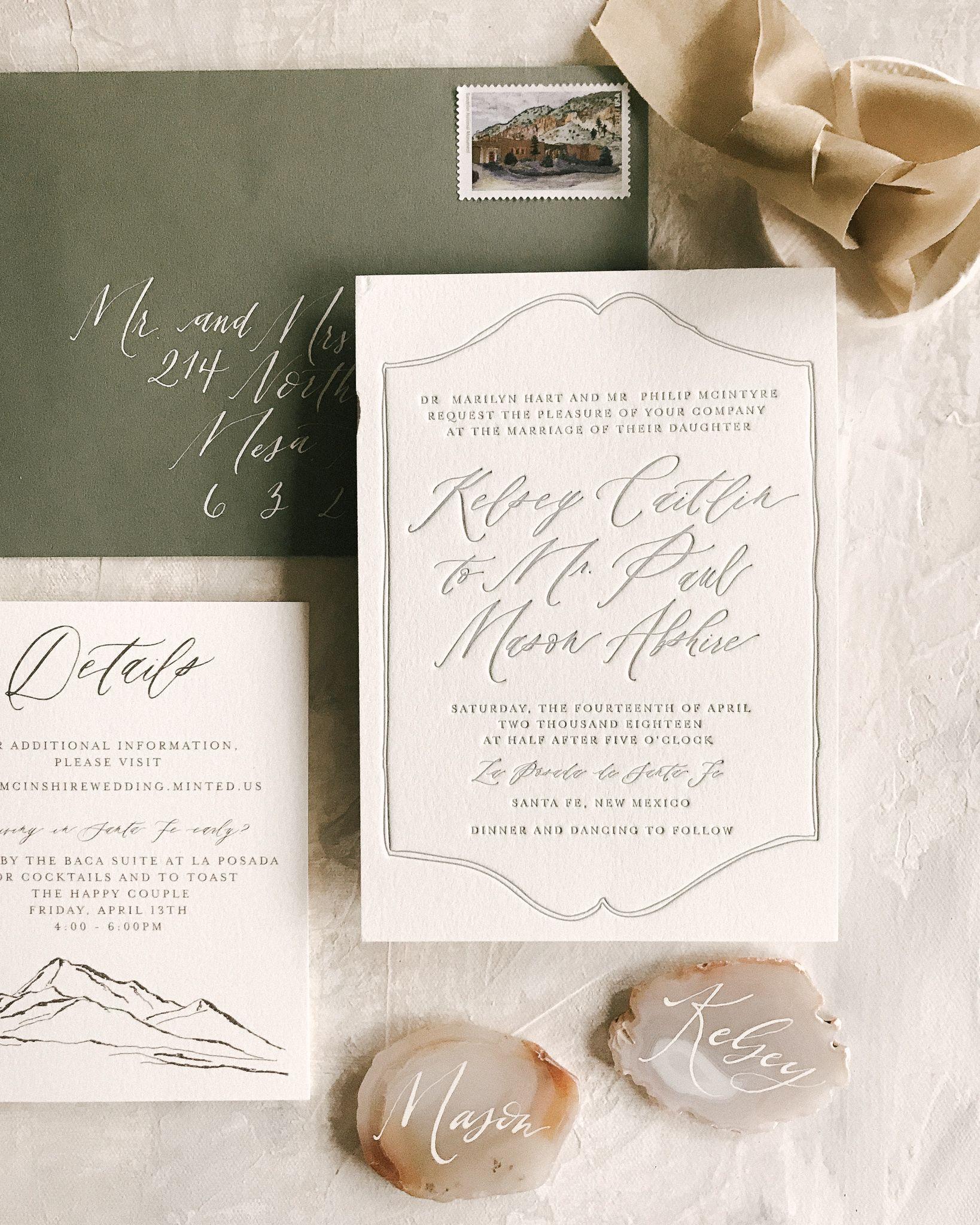 Wedding Invitation Etiquette Series Invitation Wording