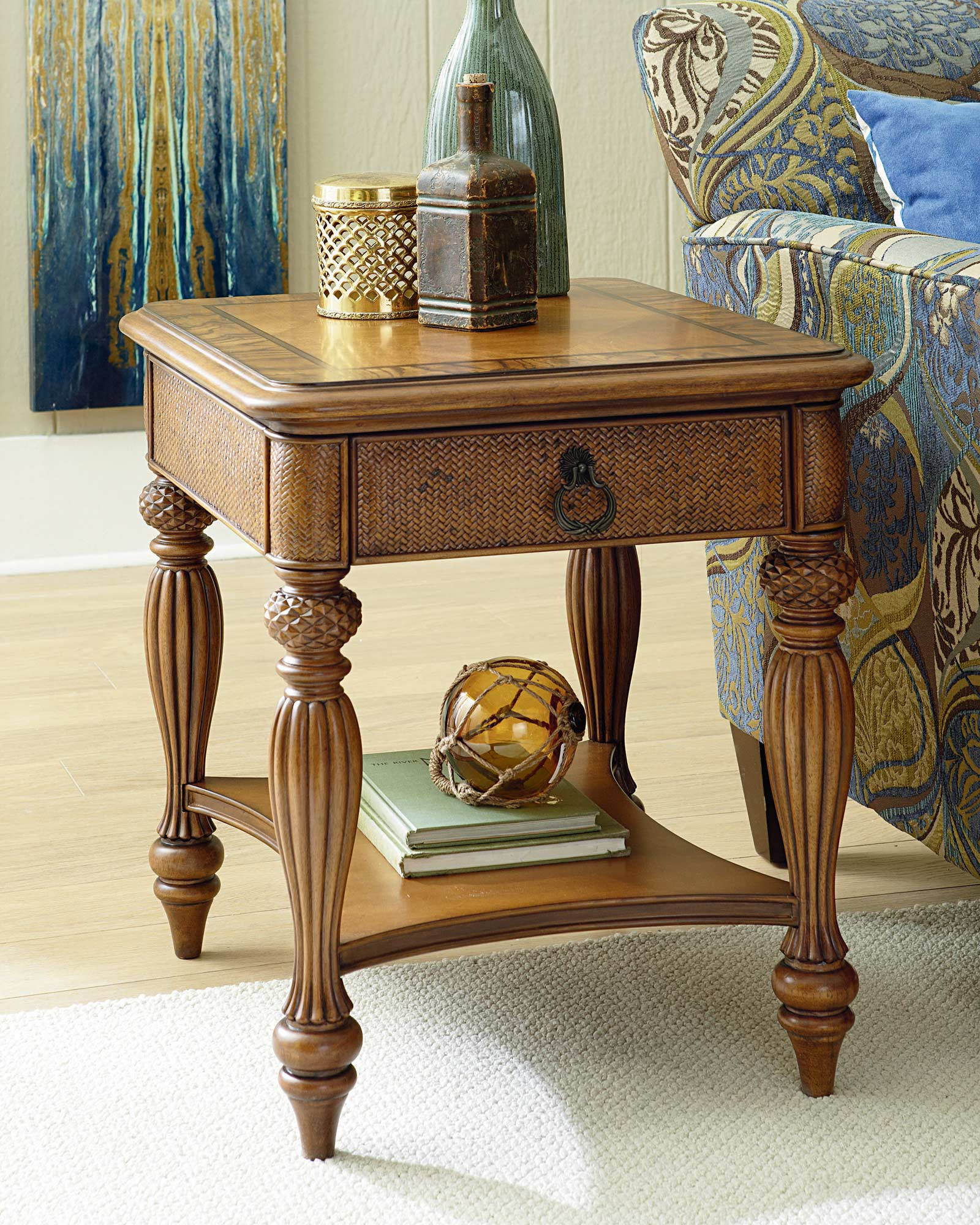 Closeout Grayson Round End Table End Tables Table Furniture