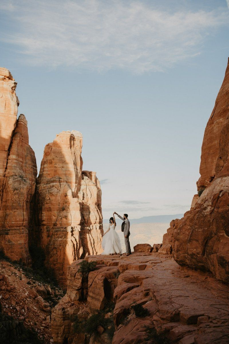 Cathedral Rock Elopement Sedona (With Images)