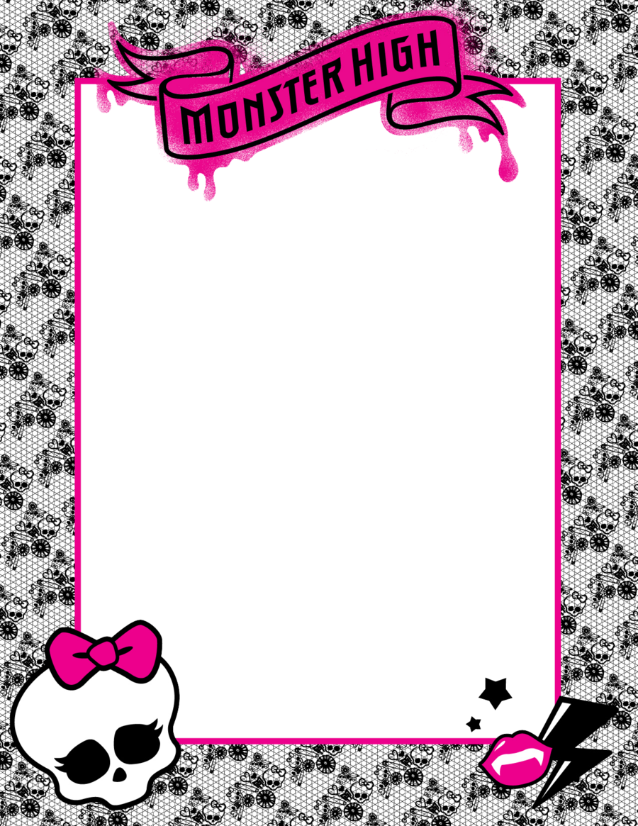 Monster High Picture Frame by ~ShaiBrooklyn on deviantART | Party ...