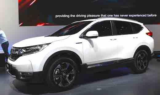 2018 Honda CRV Hybrid MPG Crv Canada Price Usa Specs