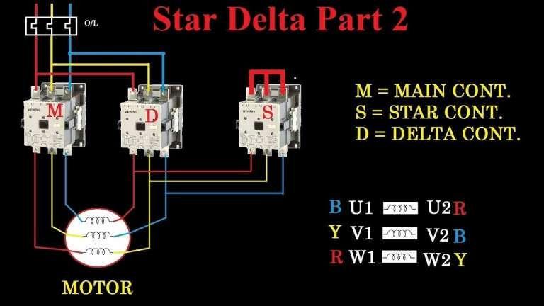 10 Electric Motor Star Delta Wiring Diagram Wiring Diagram Wiringg Net In 2020 Delta Connection Electrical Circuit Diagram Circuit Diagram