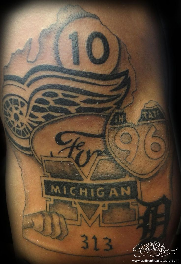 detroit d tattoos - Google Search | Tattoo | Michigan ...
