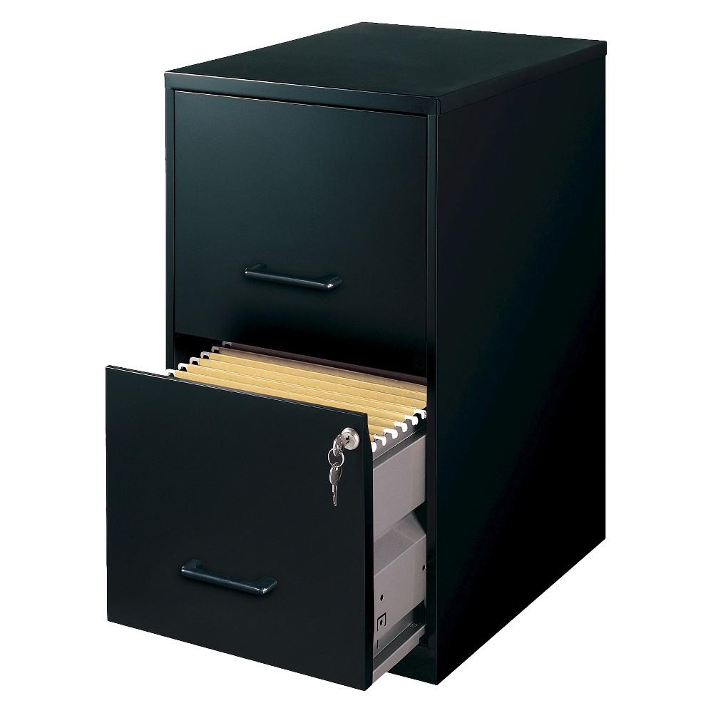 Hirsh Black Vertical 2 Drawer Filing Cabinet Metal With Images Filing Cabinet Mobile File Cabinet Drawer Filing Cabinet