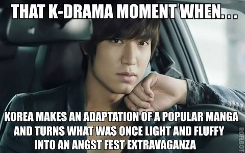 The Japanese usually excel at manga adaptations. Kdramas not so much.