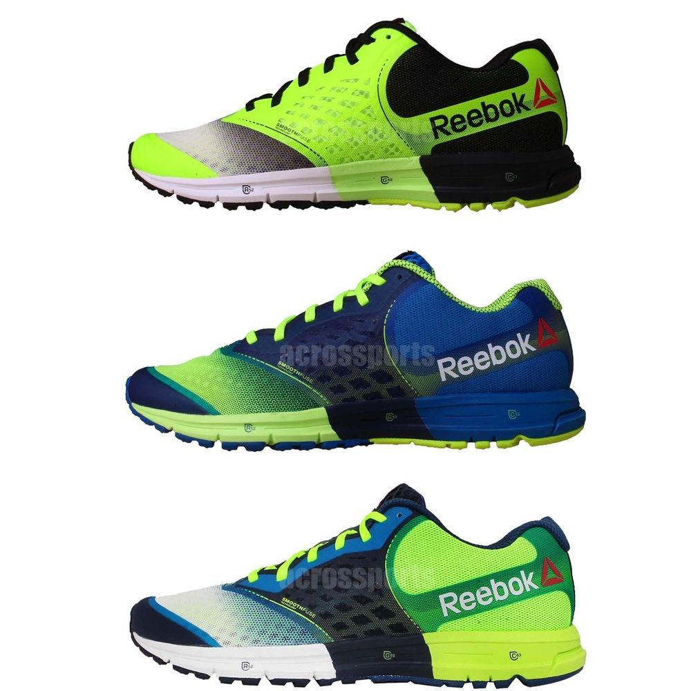 Reebok One Guide 2 0 Mens Cushion Runner Jogging Running Shoes Sneakers  Pick 1