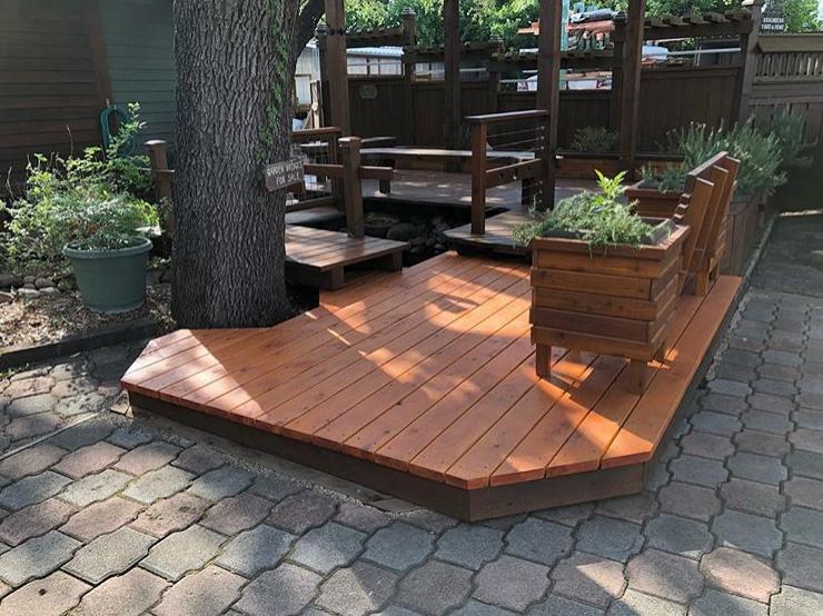 Small Decking Ideas Using Cedar Western Red Cedar Western Red Cedar Lumber Cedar Lumber