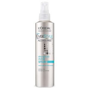 Everstyle Alcohol Free Strong Hold Styling Spray L Oreal Paris Alcohol Free Alcohol Free Hair Products Free Beauty Products