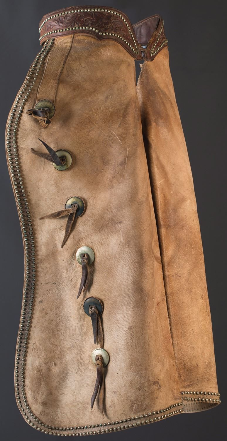 Al Furstnow Batwing Chaps - Old West Events