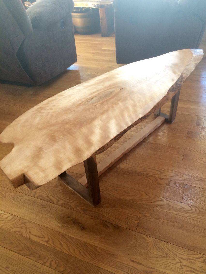 Live Edge Birch Coffee Table Dining Table Table Home Decor