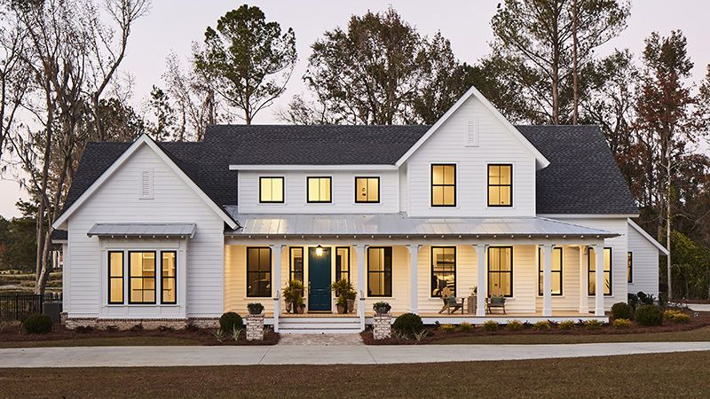 Our Favorite House Plans of 2018 #smallmodernfarmhouseplans