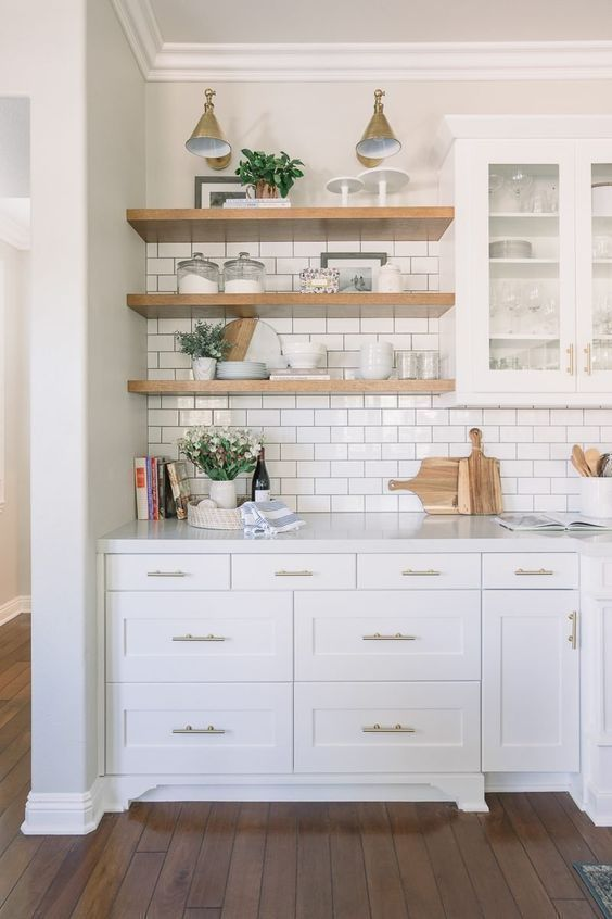 Photo of 16 Organized Kitchen Shelving Ideas
