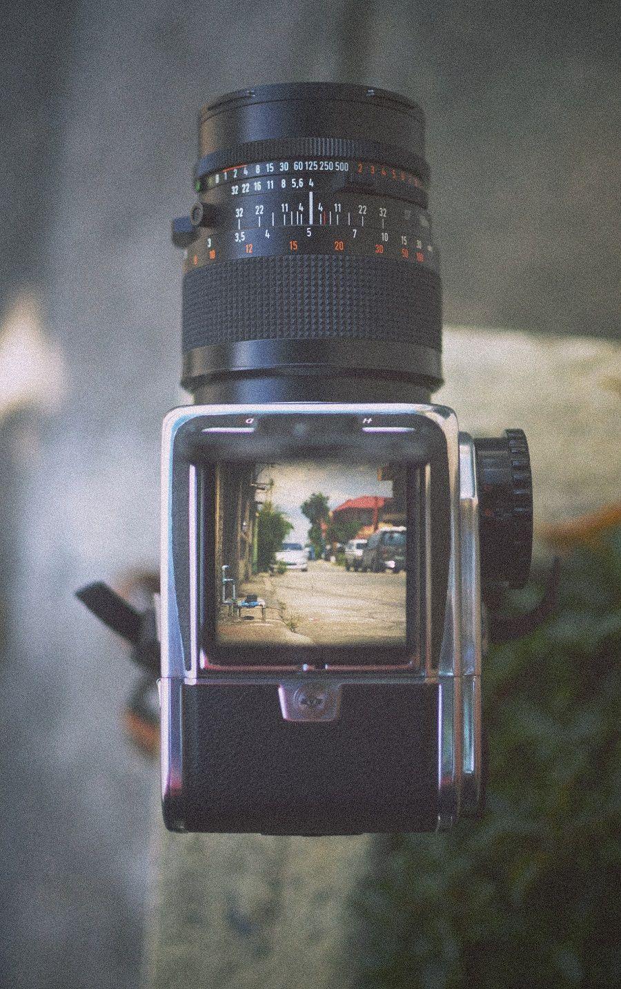Digital And Analog Camera Lense