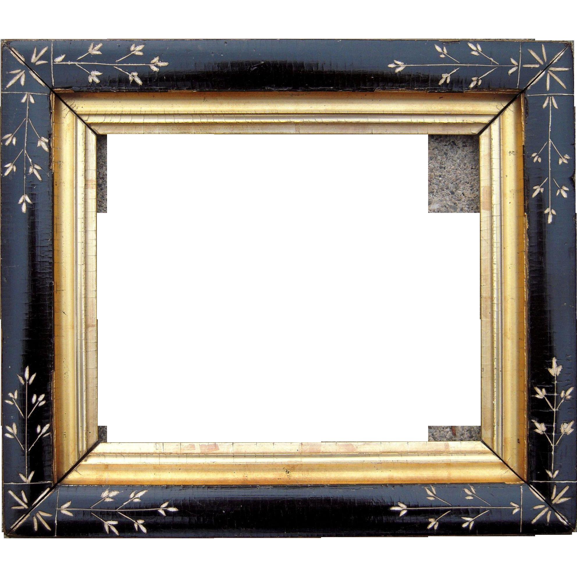 Ebonized Eastlake Picture Frame 8\