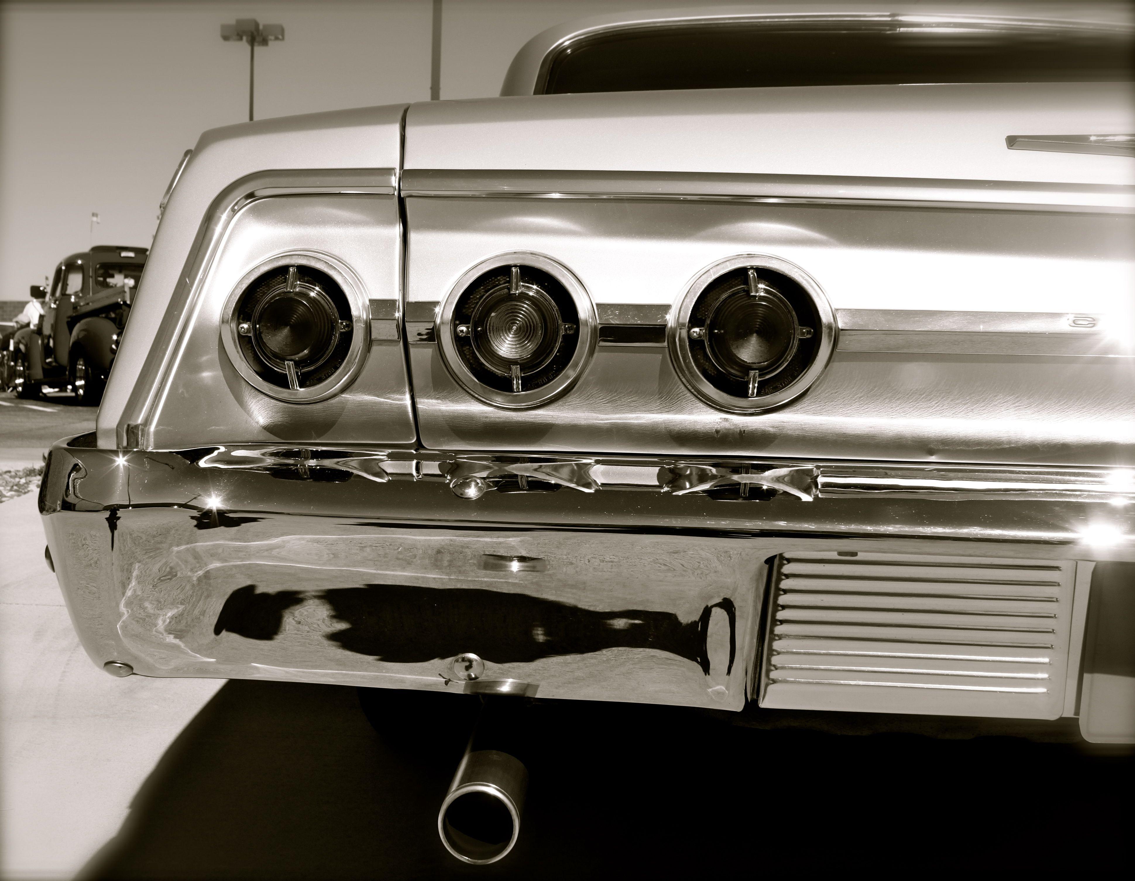 63 chevy impala tail lights