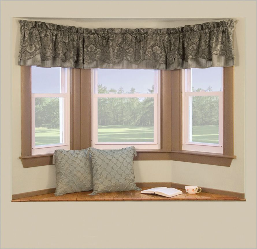 5 Curtain Ideas For Bay Windows Curtains Up Blog: Curtain-Rod-for-a-Bay-Window_001, Photo Curtain-Rod-for-a