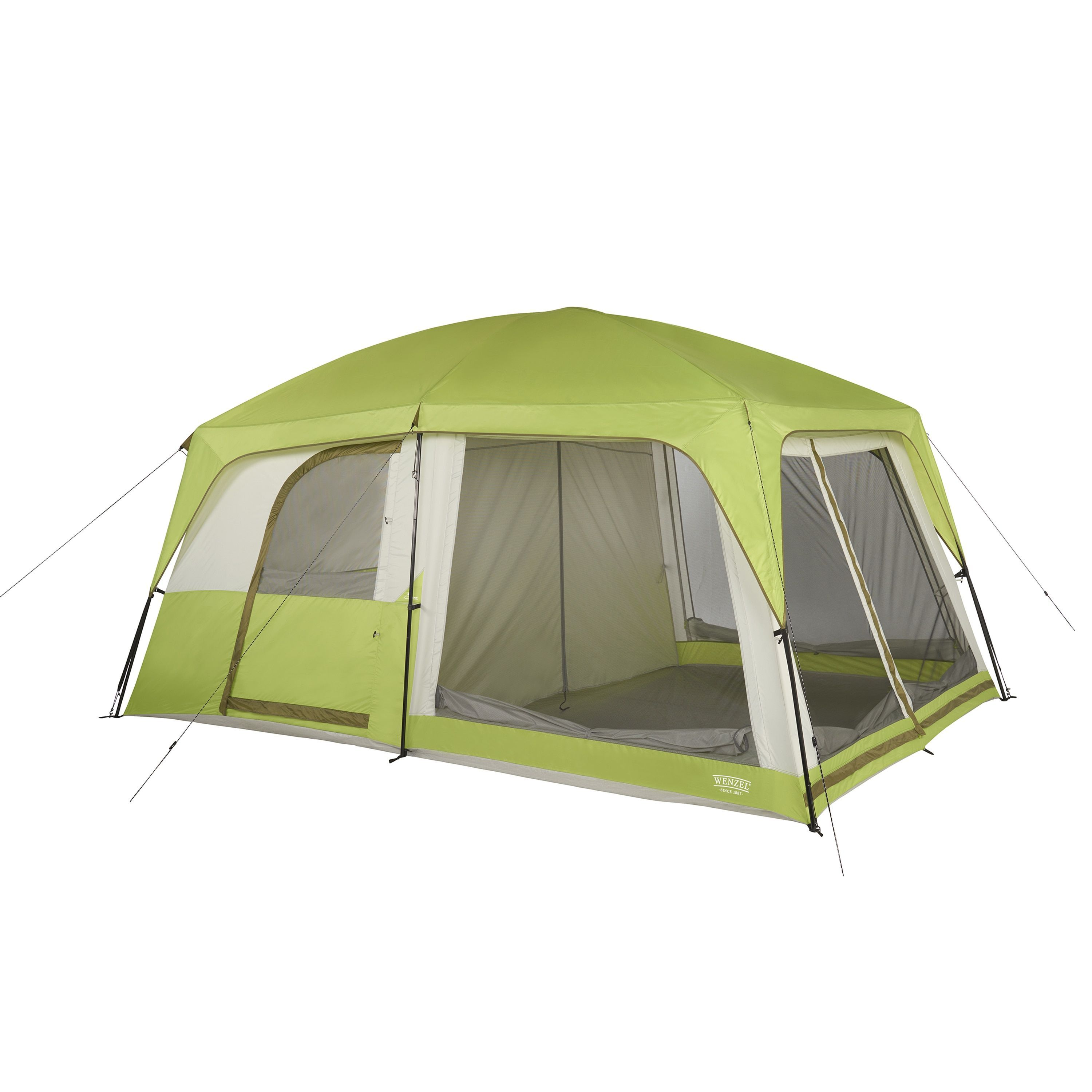 Wenzel Eldorado Green 8-person Water-resistant Cabin Tent (Eldorado 8 Person Cabin Tent)  sc 1 st  Pinterest & Wenzel Eldorado Green 8-person Water-resistant Cabin Tent ...