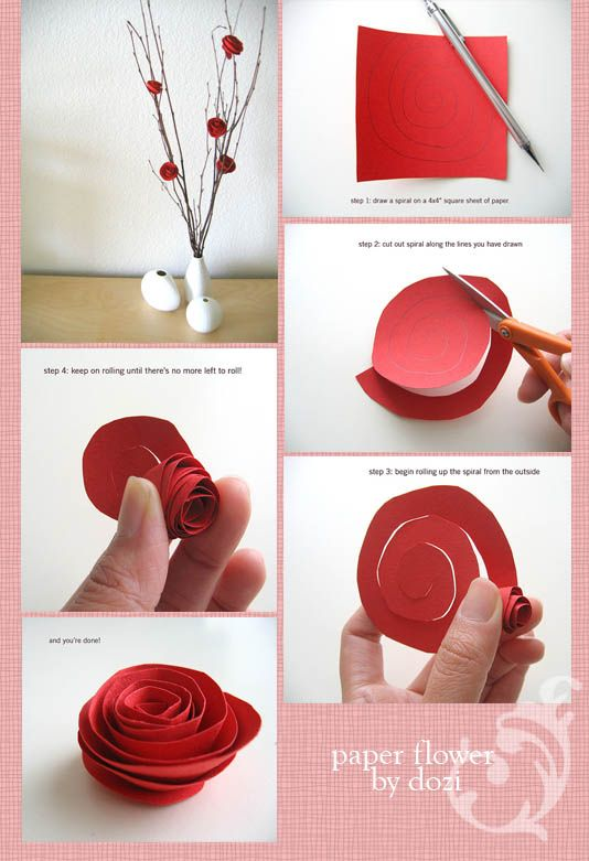 Httpcecimaginaryleswordpress200807paperflowerg httpcecimaginaryleswordpress200807paperflowerg diy pinterest paper roses crafts and crafty mightylinksfo Image collections