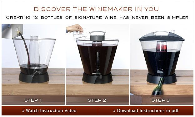 Personal winemaking system artful winemaker home wine making tips how to make wine at home - Make good house wine tips vinter ...