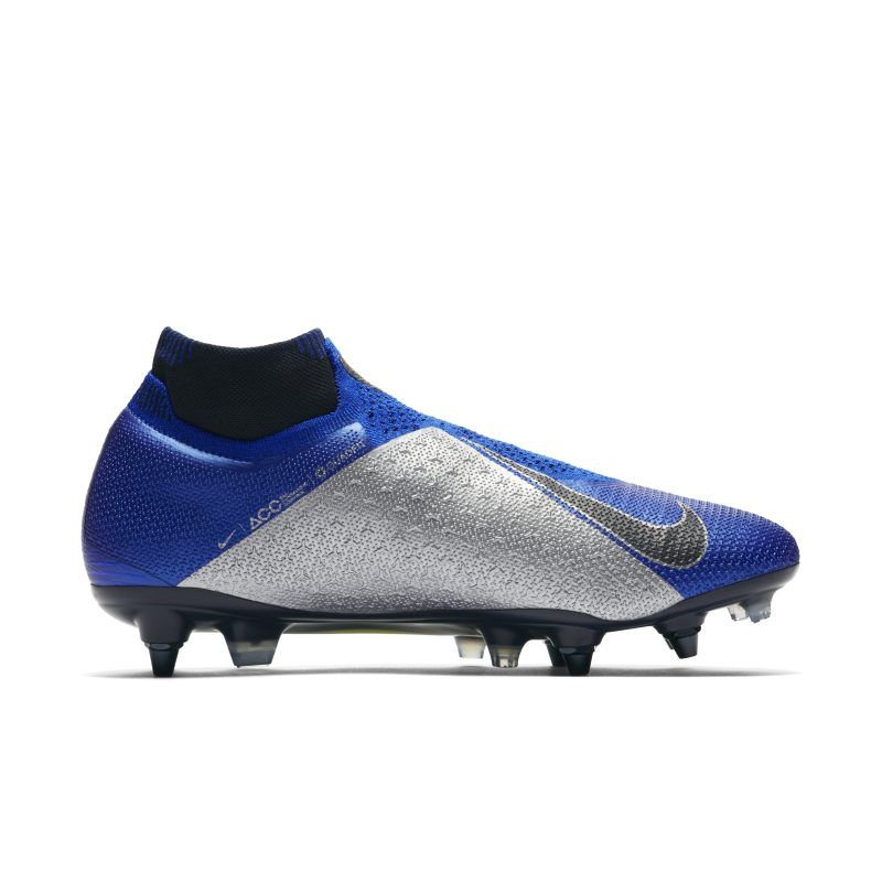 more photos c6383 2f9ec Nike Phantom Vision Elite Dynamic Fit Anti-Clog SG-PRO Football Boot - Blue