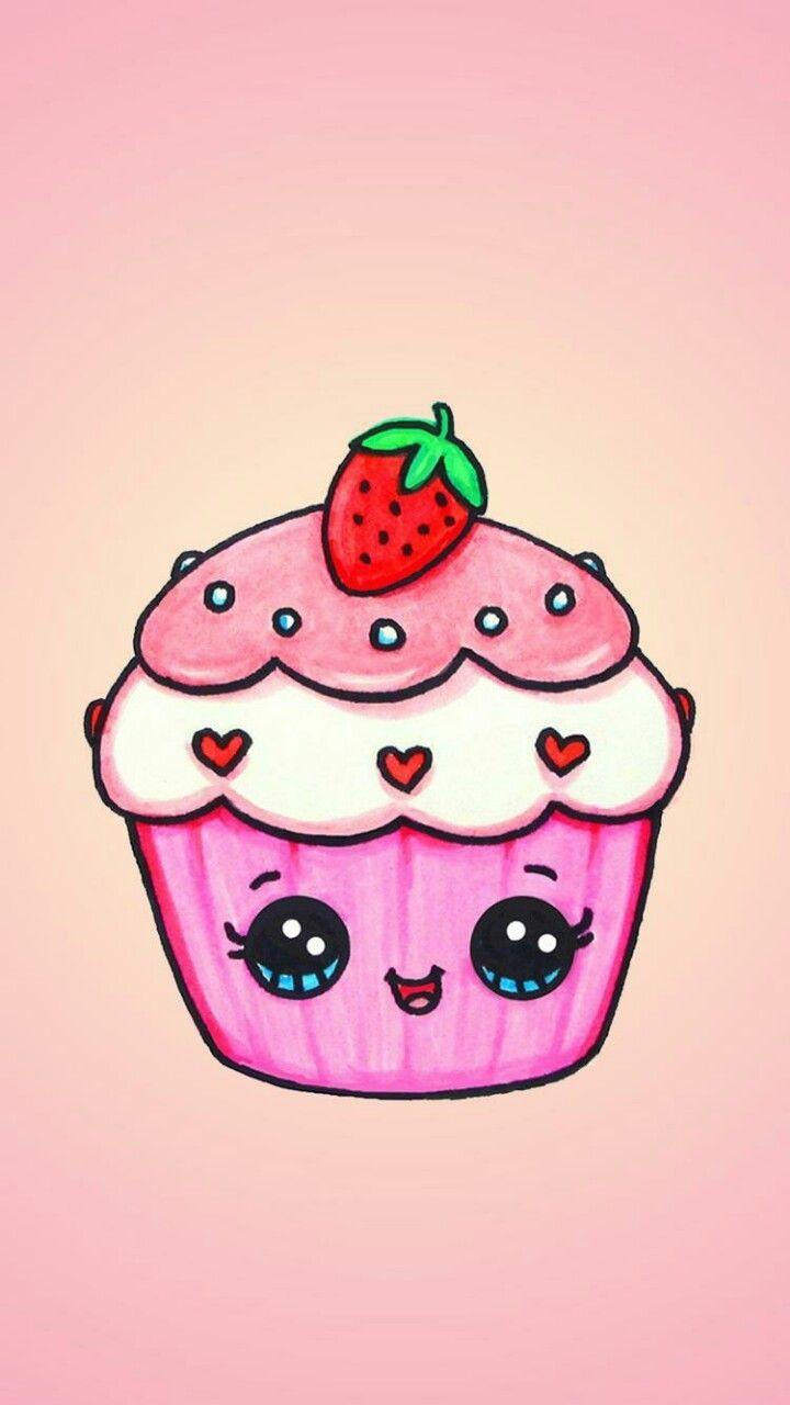 foto de Pin van sarapadara op Doodle Cupcake tekening