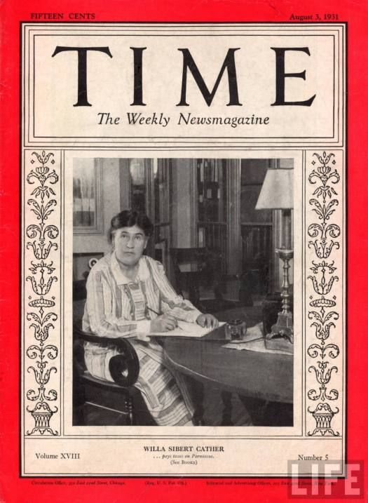 willa cather writing style