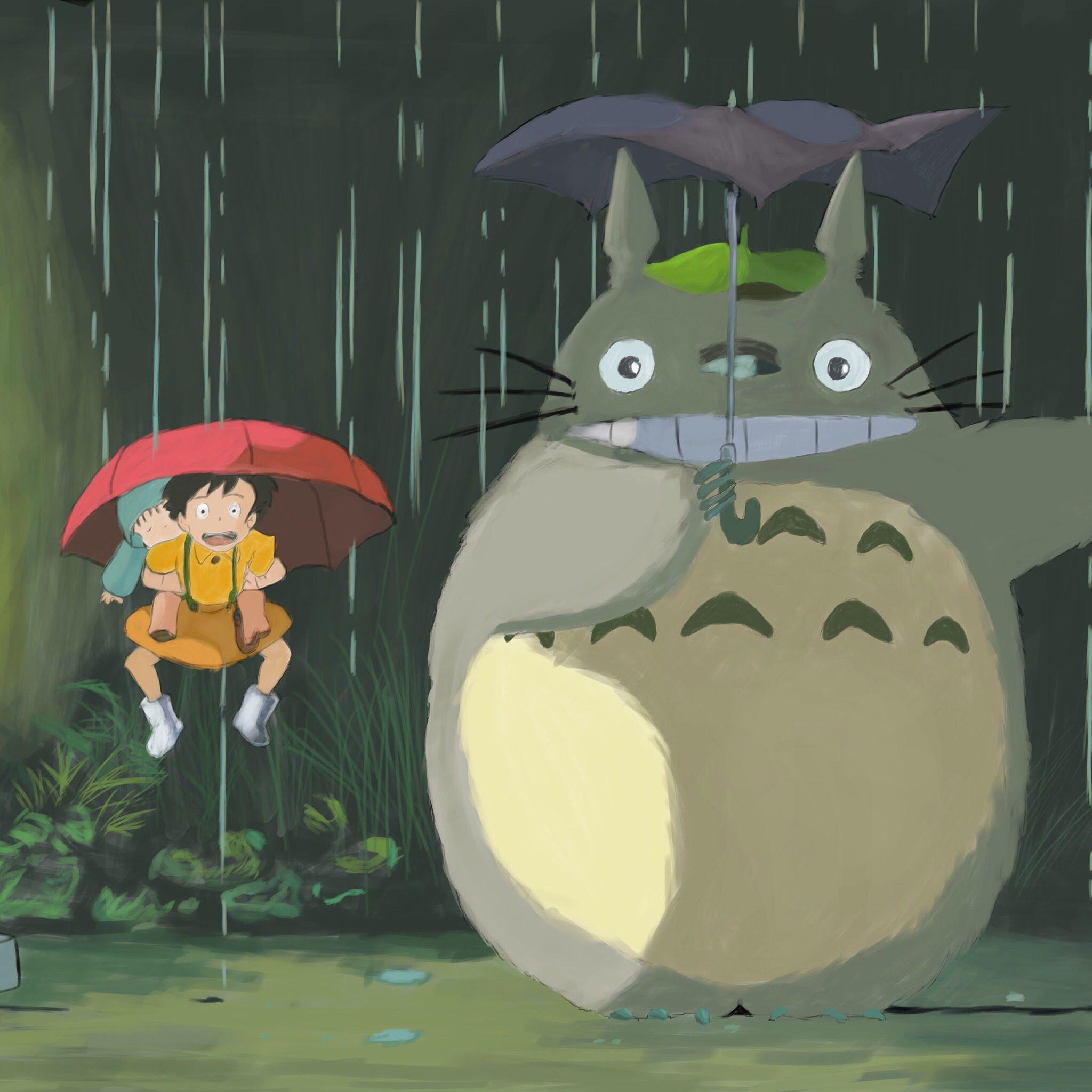 This scene Hayao miyazaki, Totoro, Miyazaki
