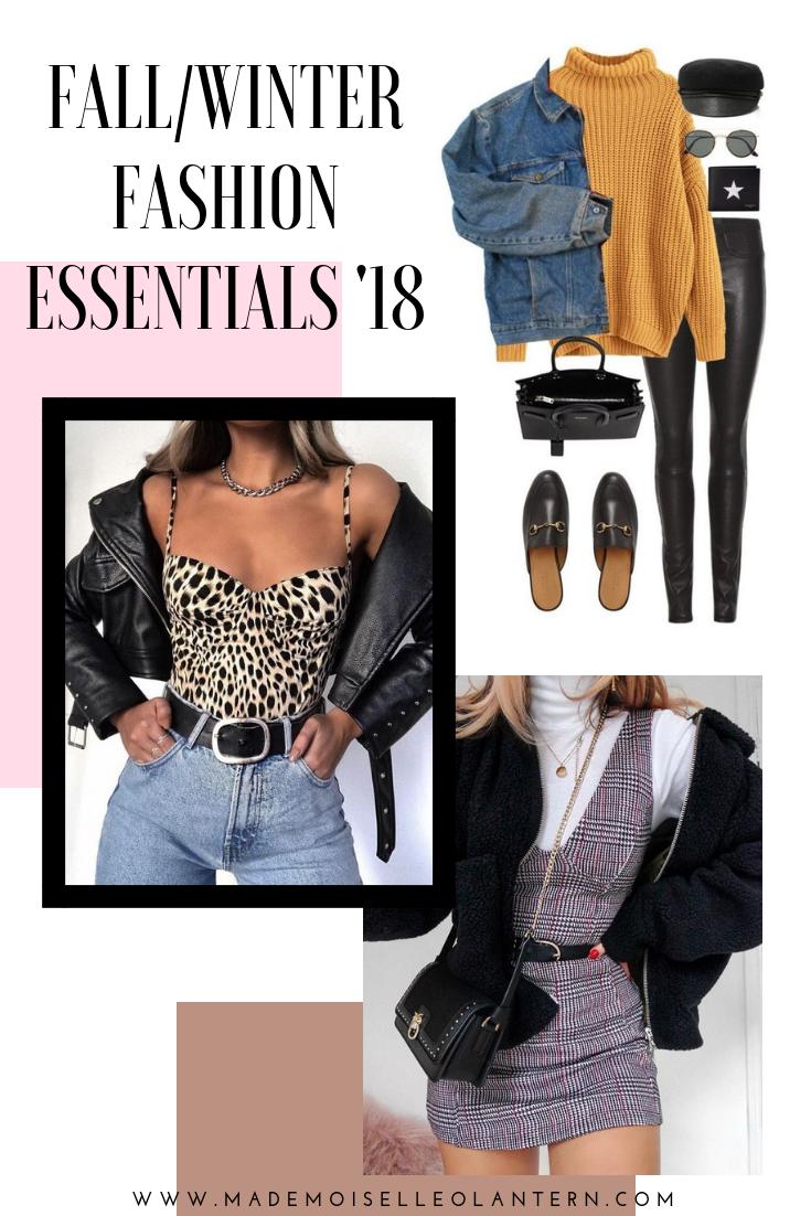 d4cb7a74980 Fall wardrobe essentials  2018  forwomen