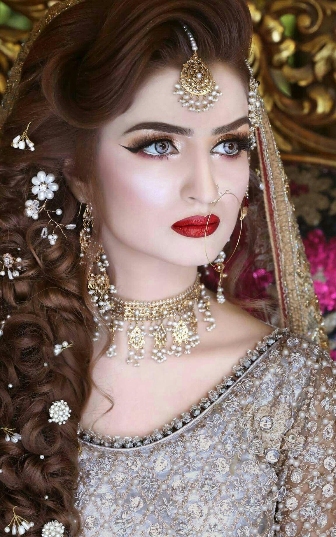 Pin by Mahrosh ch on brides Pakistani bridal makeup