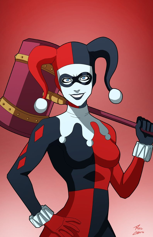Harley Quinn on the loose by phil-cho.deviantart.com on @DeviantArt