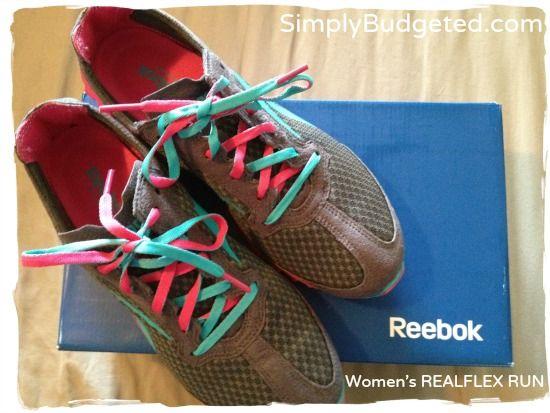Reebok Women's REALFLEX RUN Review #ReeboxMom #sponsored