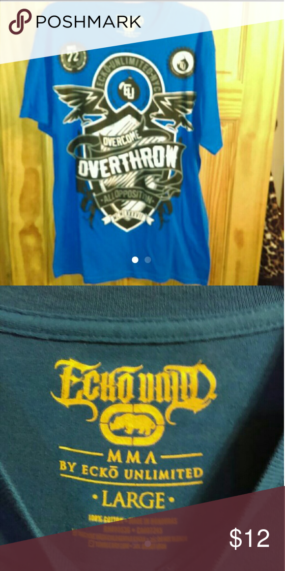 cef2b828 Men's Ecko shirt   Mma shirts, Short sleeves and Conditioning