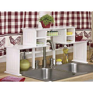 Over The Sink Shelf Home Kitchens Sink Shelf Kitchen Storage