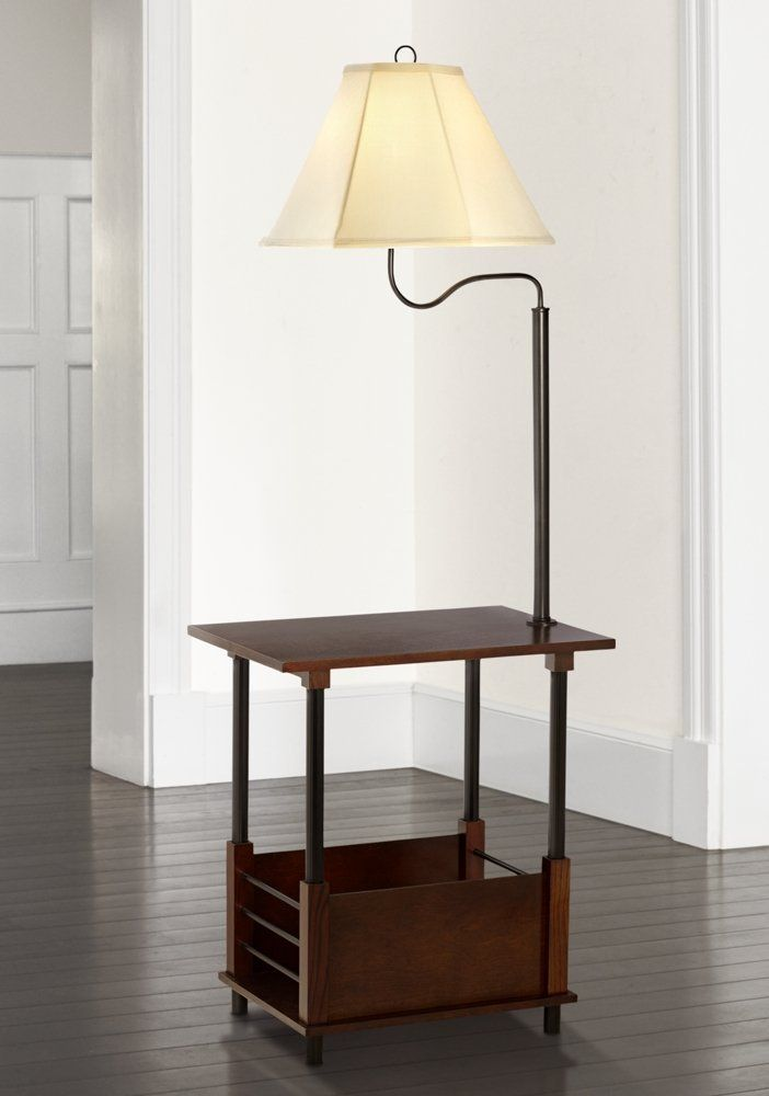 Marville Mission Style Swing Arm Floor Lamp With End Table Swing Arm Floor Lamp End Table With Lamp Lamp