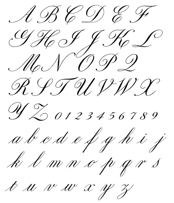 Best exemplar for copperplate calligraphy pinterest