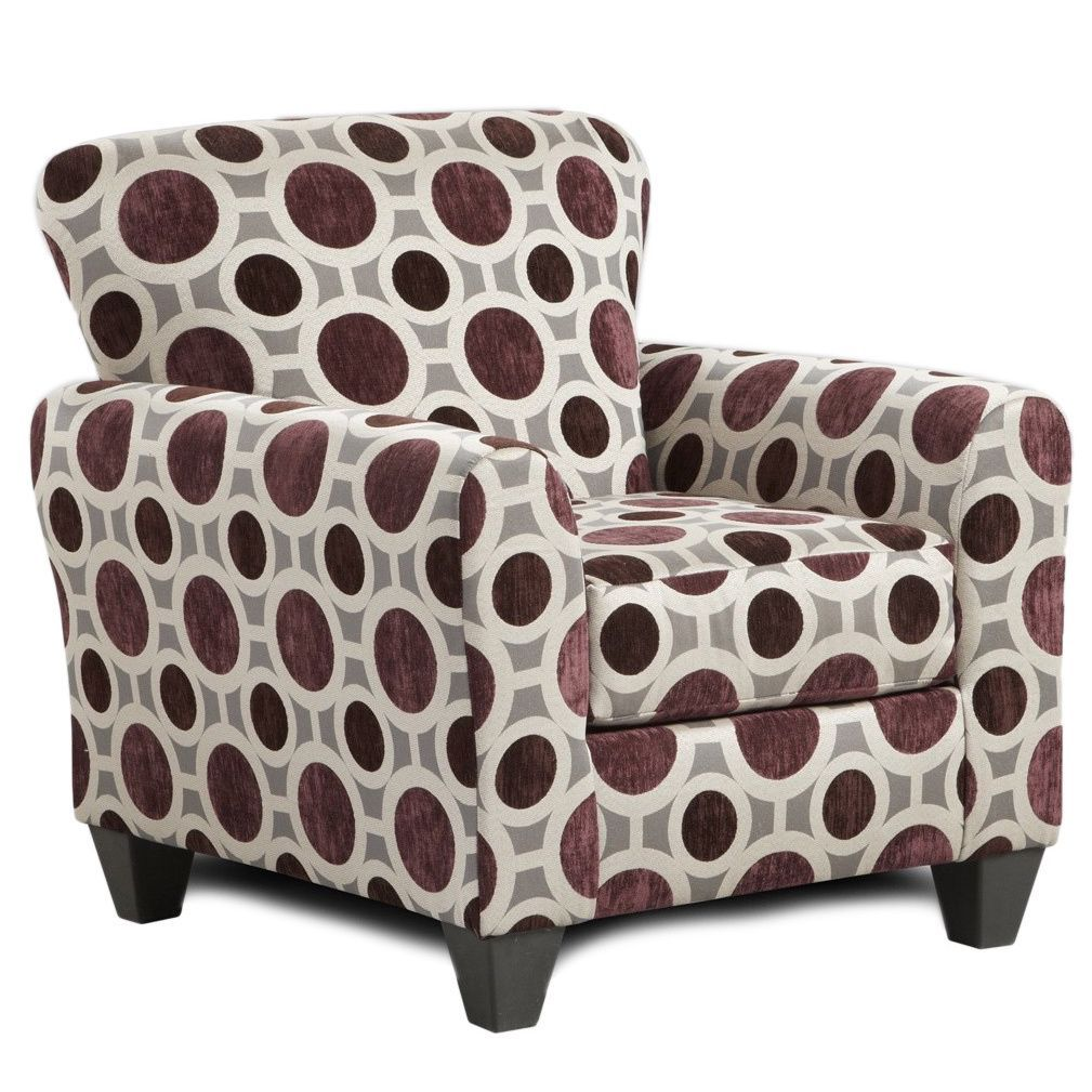 Best Sofa Trendz Chloe Burgundy Multicolor Polyester Accent 640 x 480