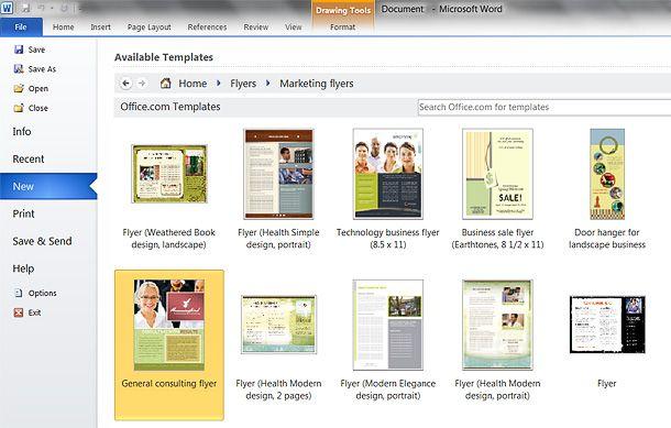 How To Make A Resume On Word 2010 Hur Man Gör Flygblad För Ditt Företag  Visitkort  Pinterest .