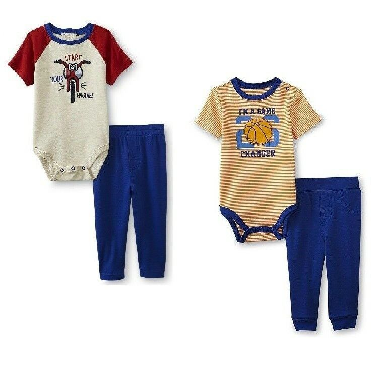 NEW First Impressions Baby Boys Polo Shorts Set 2 Piece size 6-9M 12M 18M