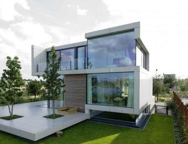 Arquitectura moderna casa modernas pinterest for Casa holandesa moderna